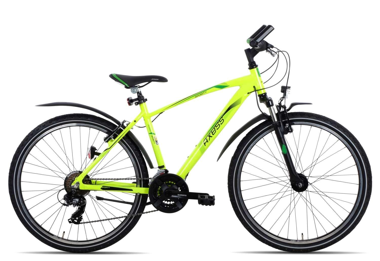 Axess Sporty 21 26 Boy 2018 | 50 cm | neon yellow