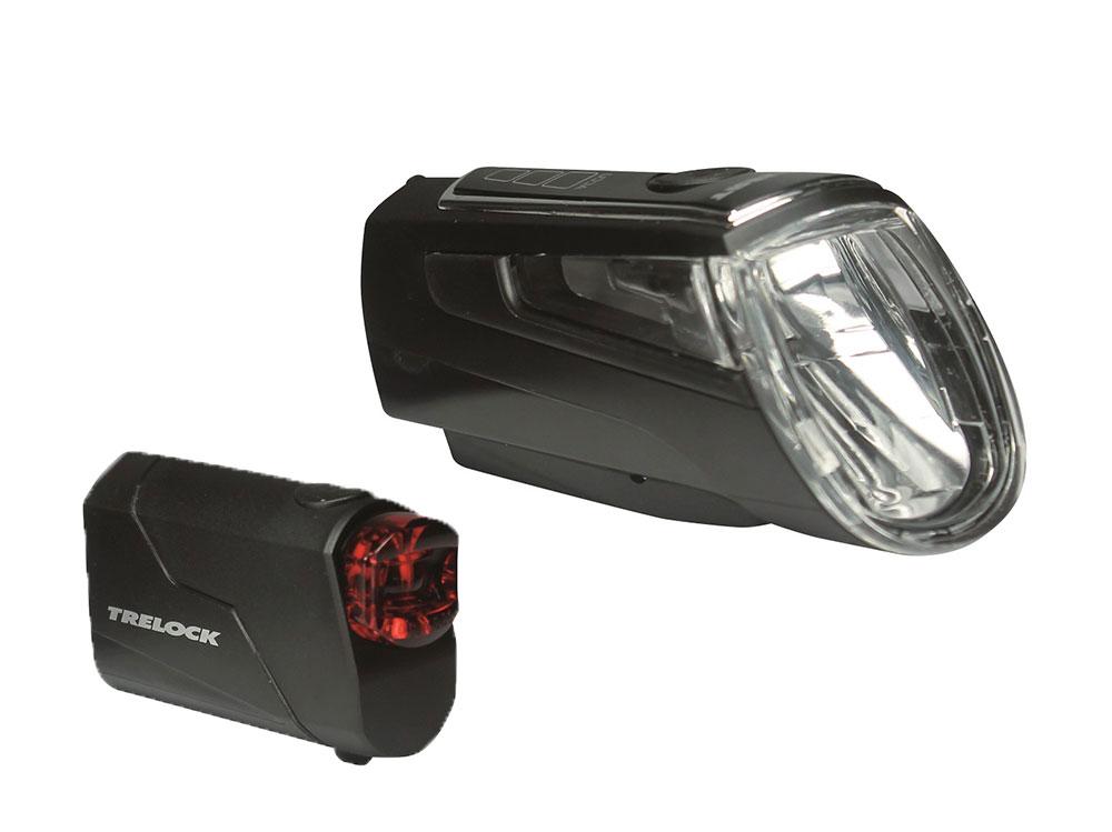 Trelock LS 560 I-Go Control + LS 720 Reego Set 50 Lux | schwarz