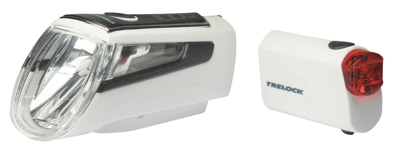 Trelock LS 560 I-Go Control + LS 720 Reego Set 50 Lux | weiß