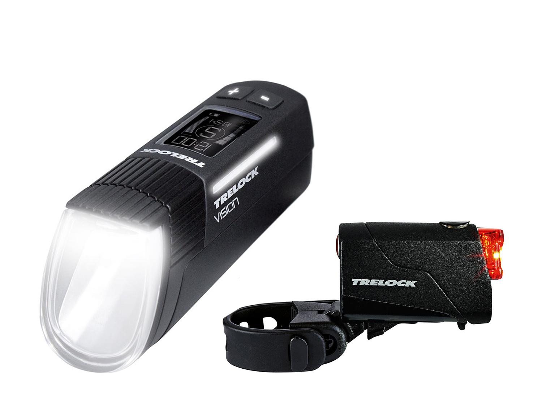 Trelock LS 760 I-Go Vision + LS 720 Reego Set | schwarz